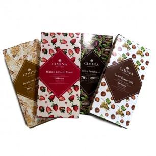 4 Tavolette Cioccolata...