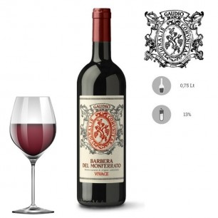 Vino rosso Barbera Vivace