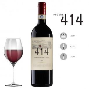 Vino rosso Morellino