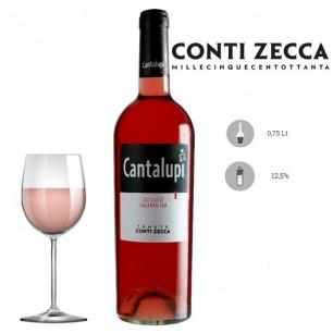 Negroamaro Rosato Salento IGP Cantalupi 2018 - Conti Zecca