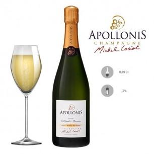 Champagne Cuvée Authentic Meunier Brut - Blanc de Noirs - Apollonis Michel Loriot