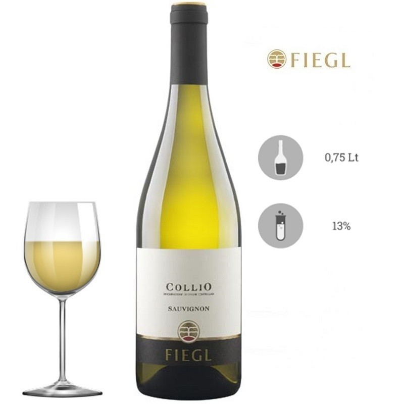 Vino bianco sauvignon collio