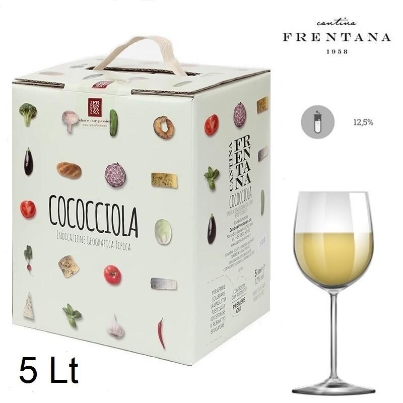 Vino bianco cococciola