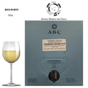 Bag-In-Box 5 Lt Traminer Aromatico VG IGT - Az. Ronc Soreli